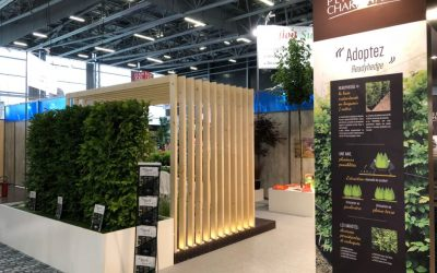 Exciting times as our new franchise Readyhedge France is launched at the salon du Vegetal in France this week